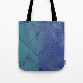 blue edit Tote Bag