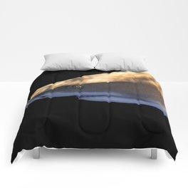 Lemon Shark Backdrop Comforters