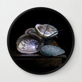 Abolone (for my Grandmothers) (c)Joel Stephen Birnie Wall Clock