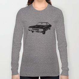 Supernatural Chevrolet Impala 67' Long Sleeve T-shirt