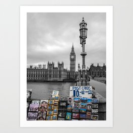 A Postcard from London Art Print