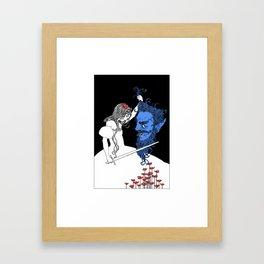 Tamarind II - The Blue Beard Framed Art Print