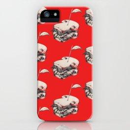 sandwich flower iPhone Case