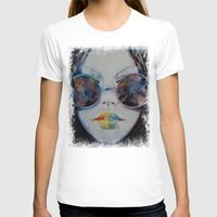 asia T-shirts featuring Asia by Michael Creese