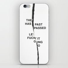 LET IT FUCKING GO /first vers./ iPhone & iPod Skin