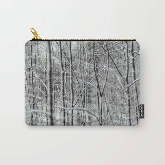 Winter gris Carry-All Pouch