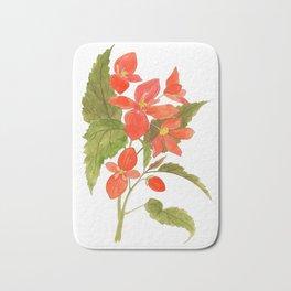 Begonia Bath Mat