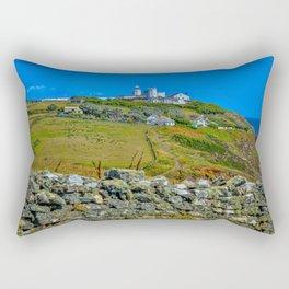 The Lizard Peninsula Lighthouse Rectangular Pillow
