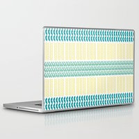 knit Laptop & iPad Skins featuring Knit Pattern by K&C Design