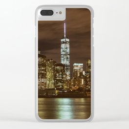 NYC 11 Clear iPhone Case