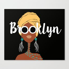 Wrapped in Brooklyn Canvas Print