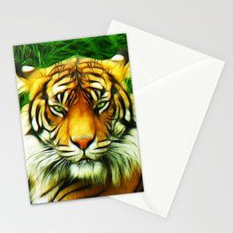 Tiger is Not Amused Stationery Cards