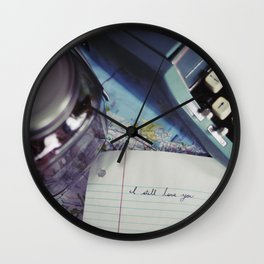 I Still Love You Wall Clock