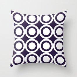 HARLON CIRCLES BY SUBGRL Throw Pillow