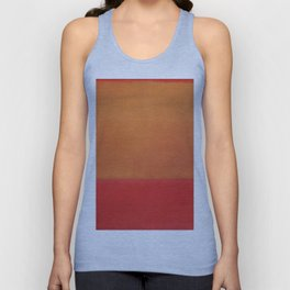 1954 Ochre Red on Red by Mark Rothko HD Unisex Tank Top