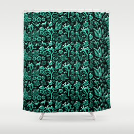 Joshua Tree Verde by CREYES Shower Curtain