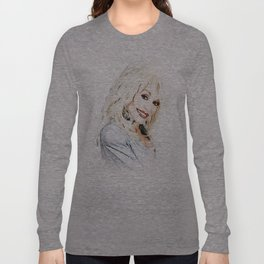 Dolly Parton - Pop Art Long Sleeve T-shirt