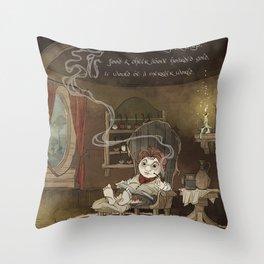 A Merrier World Throw Pillow