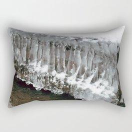 Ice Columns Rectangular Pillow