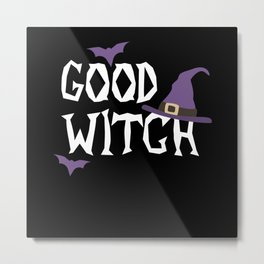 Good Witch Halloween Costume Monster Ghost Metal Print