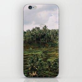 Bali Tegalalang II iPhone Skin
