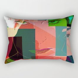 Eyes Pop art Rectangular Pillow