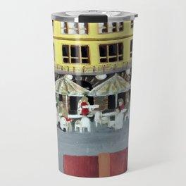 Frankfurt Germany Old Town – Acrylic Painting Travel Mug