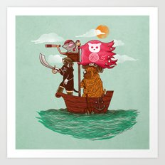 The Pirates Art Print
