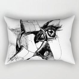 Ball Gagged Rectangular Pillow