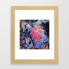 Lacy Love Framed Art Print