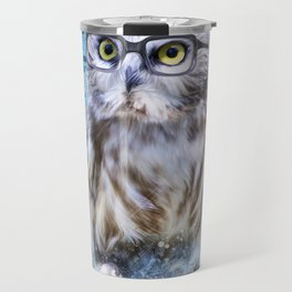 The Scientist Owl Travel Mug