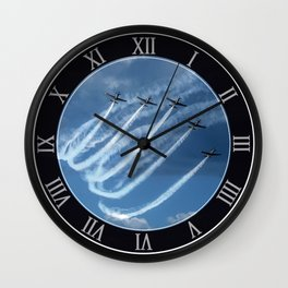 Brave Five Wall Clock