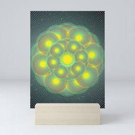 Flower of Gratitude Mini Art Print