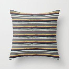 Shaky Stripes, Original Throw Pillow