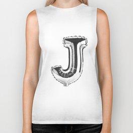 Letter J Biker Tank
