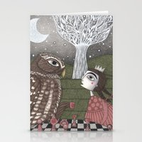 once upon a  time Stationery Cards featuring Once Upon a Time by Judith Clay