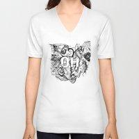 ohio V-neck T-shirts featuring Ohio. by Stefani Reeder