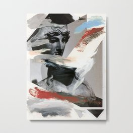 Untitled (Painted Composition 4) Metal Print