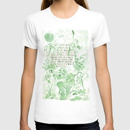 """""""Conquest of the Useless"""" by Werner Herzog Print (v. 2) T-shirt"""