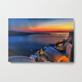 Santorini 19 Metal Print