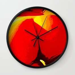 Dat Ass Though Heat Wall Clock