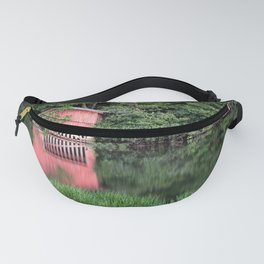 Mirror Lake House Fanny Pack