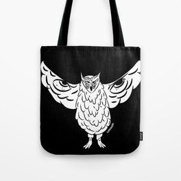 owl from within Tote Bag