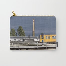 Yellow Train - Berlin Carry-All Pouch