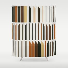 Abstract Composition 563 Shower Curtain
