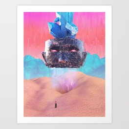 Oracular head Art Print