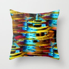 Helter-Skelter Throw Pillow