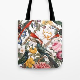 Floral and Birds XXXV Tote Bag