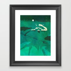Ponce of Tides Framed Art Print
