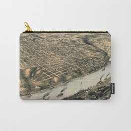 Map Of Kansas City 1869 Carry-All Pouch